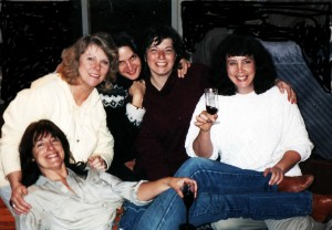 Girls of 1993, a couple years after I started working at Lane CC. That's me on the right.