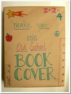 Image result for how to make a book cover for school project